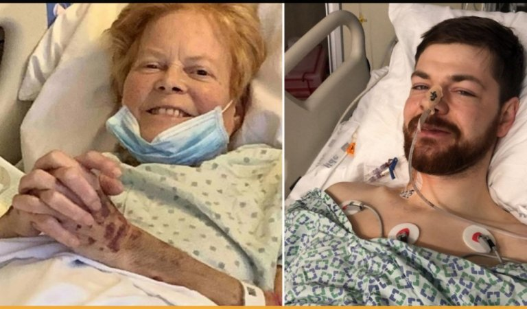 This 71 Years Old Woman Received Liver Donation From Her Granddaughter's Boyfriend