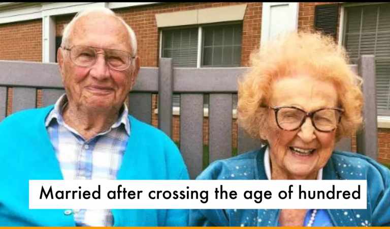 The Couple Madly In Love Tie The Knot After Crossing The Age of 100