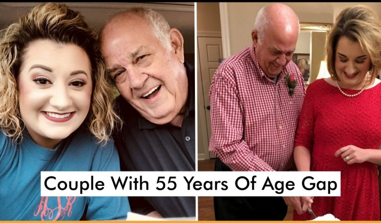 Couple With 55 Years Of Age Gap Are Married And Madly In Love And Wants To Have Kids