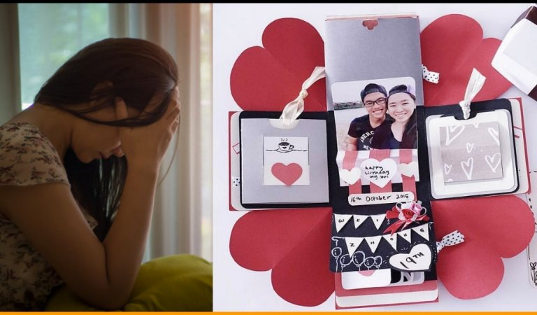 Girl Makes Explosion Memory Box For Boyfriend, But He Returns It Saying It's Useless Rubbish