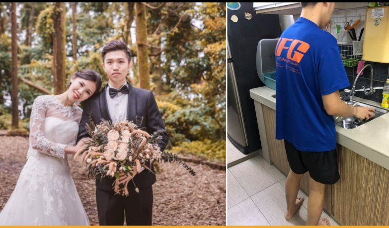 Guy Treats His Girlfriend Like A Princess But Netizens Shamed Him By Calling Him A 'Maid'