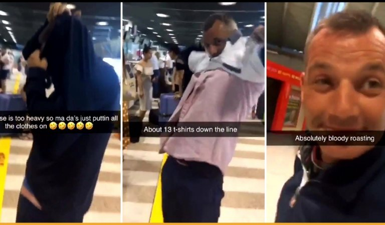 Man Wears 15 Shirts At The Airport To Avoid Excess Baggage Charges