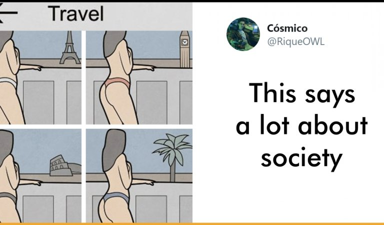 Russian Artist Sums Up What Instagram Is All About Nowadays In Six Pictures