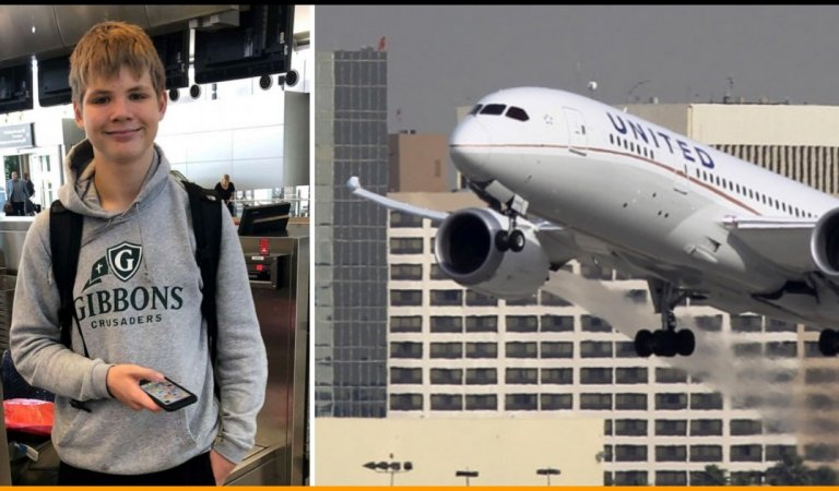 14-Year-Old Boy Almost Landed In The Wrong Country After He Boarded The Wrong Flight