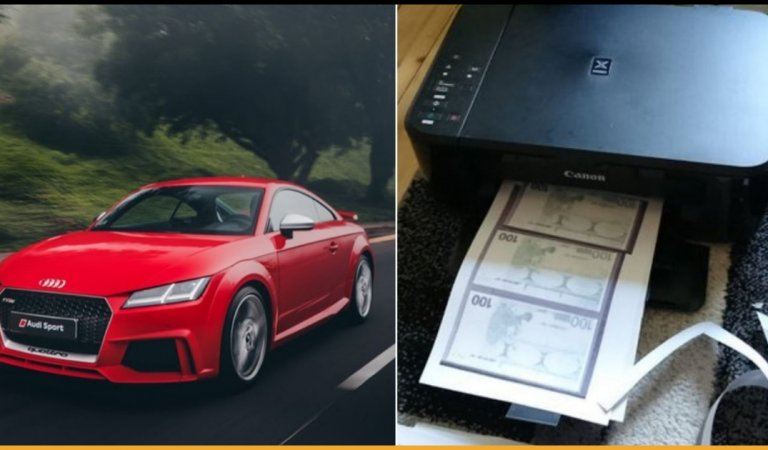Woman Prints Fake Cash At Home And Goes To Buy Audi With That Money, Gets Arrested