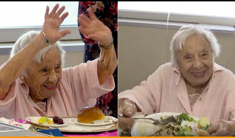 107-Year-Old Woman Says The Secret Of Her Stress-Free Long Life Is Not Getting Married