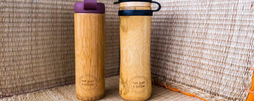Former IITian Makes bamboo Bottles To Increase Use Of Eco Friendly Products