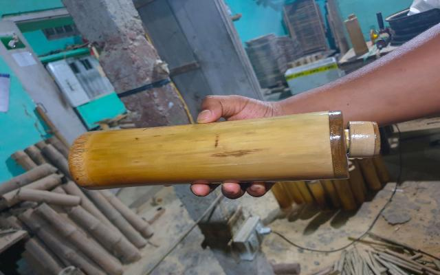 Bamboo Water Bottles Made By An Indian Student As An Alternate For Plastic Is Brilliant