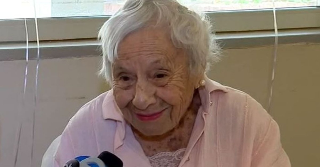 Healthy woman From New York Turns 107-year-old
