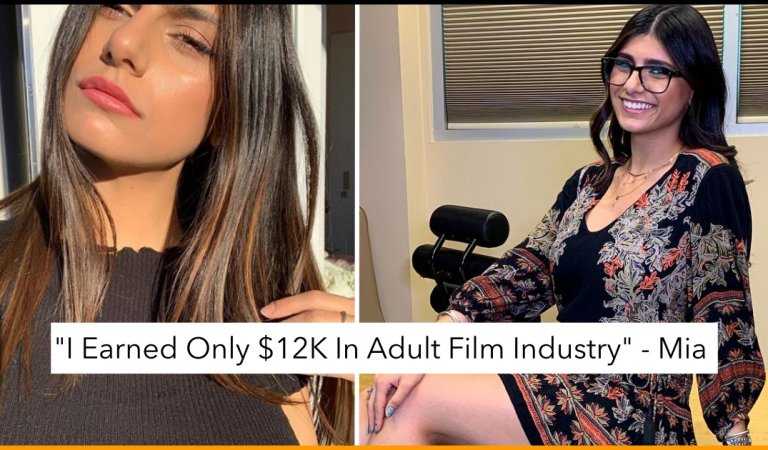 'I Earned Only $12K In Adult Film Industry' Says Mia Khalifa