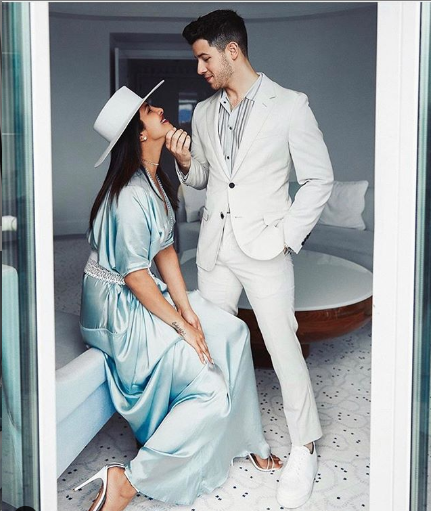 The adorable couple, Priyanaka Chopra and Nick Jonas