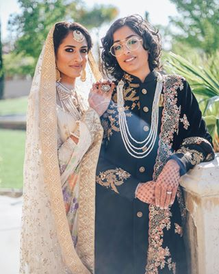 Indian-Pakistani Tied Knot In California