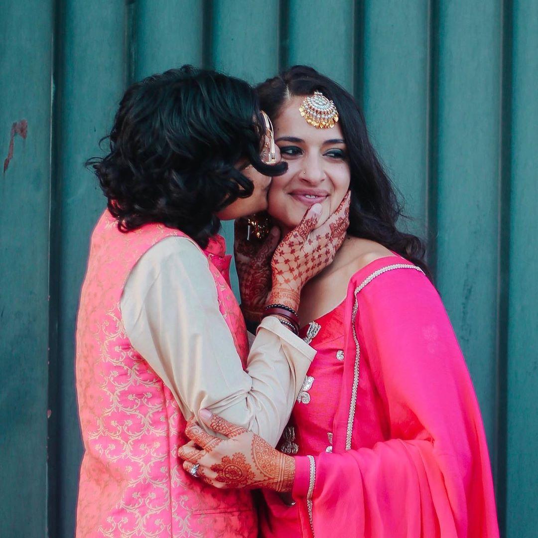 Indian-Pakistani Couple
