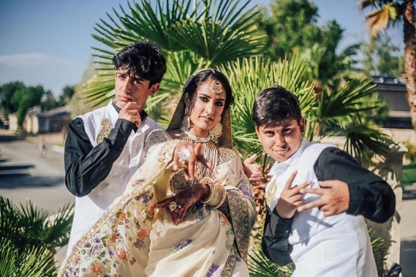 Pictures Of Indian-Pakistani Lesbian Couple Who Tied Knot In California