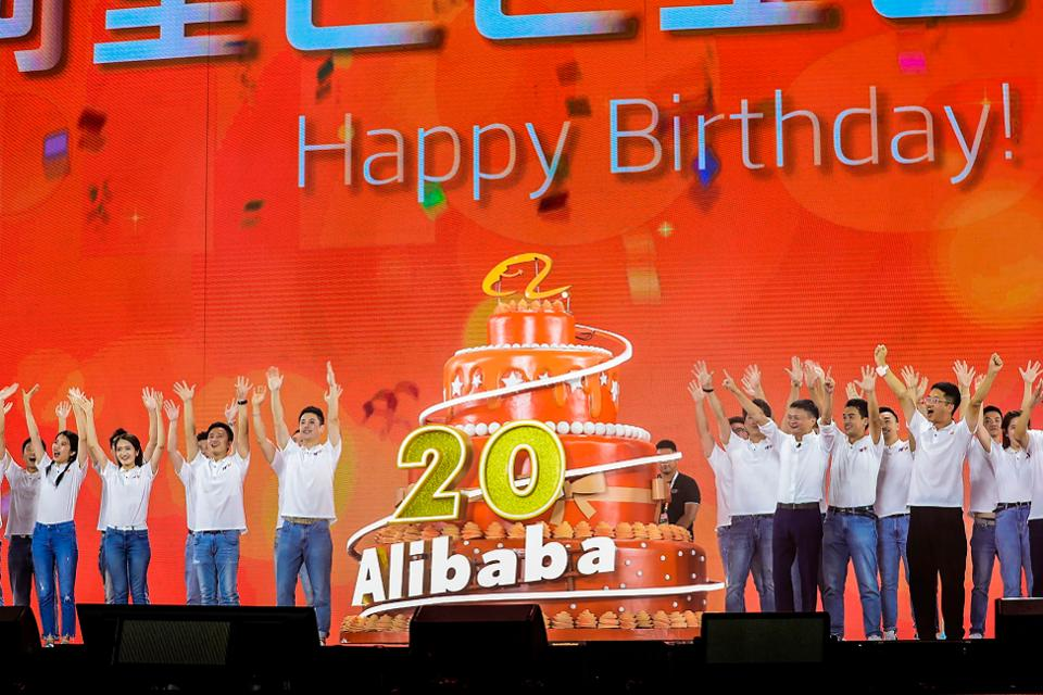 Tech Giant Alibaba celebrates 20 years