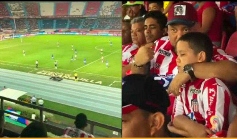 Dad Lovingly Explains Entire Football Match To His Blind Son At The Stadium, Goes Viral