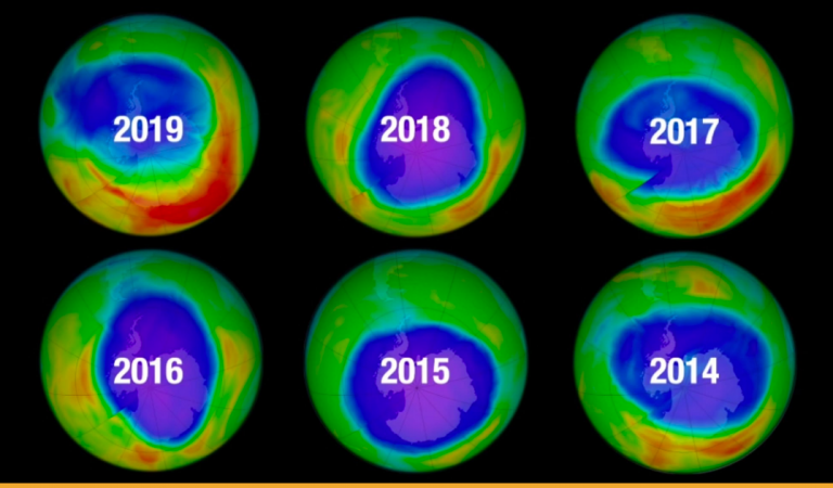 Scientists Confirm That The Ozone Layer of Earth is Continuing To Heal