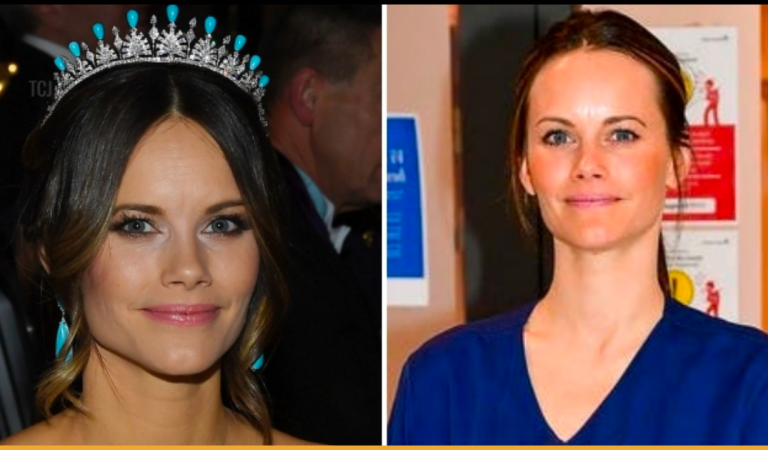 Princess Sofia of Sweden Is Turned Into A Medical Assistant For Fighting COVID-19
