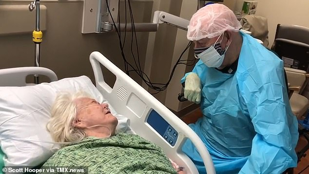 Husband Passes Away After Visiting Wife Infected With Coronavirus To Say Last Goodbye