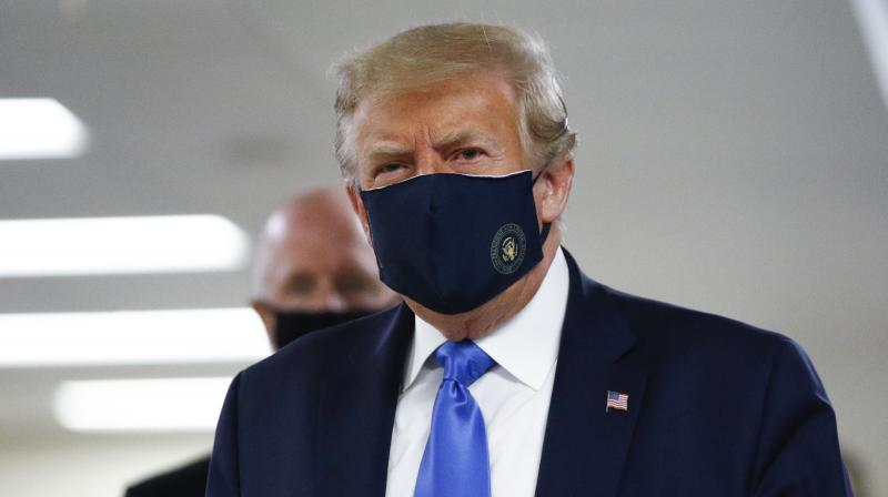 Donald Trump Finally Started Wearing A Face Mask In Public As COVID Cases Rise Globally