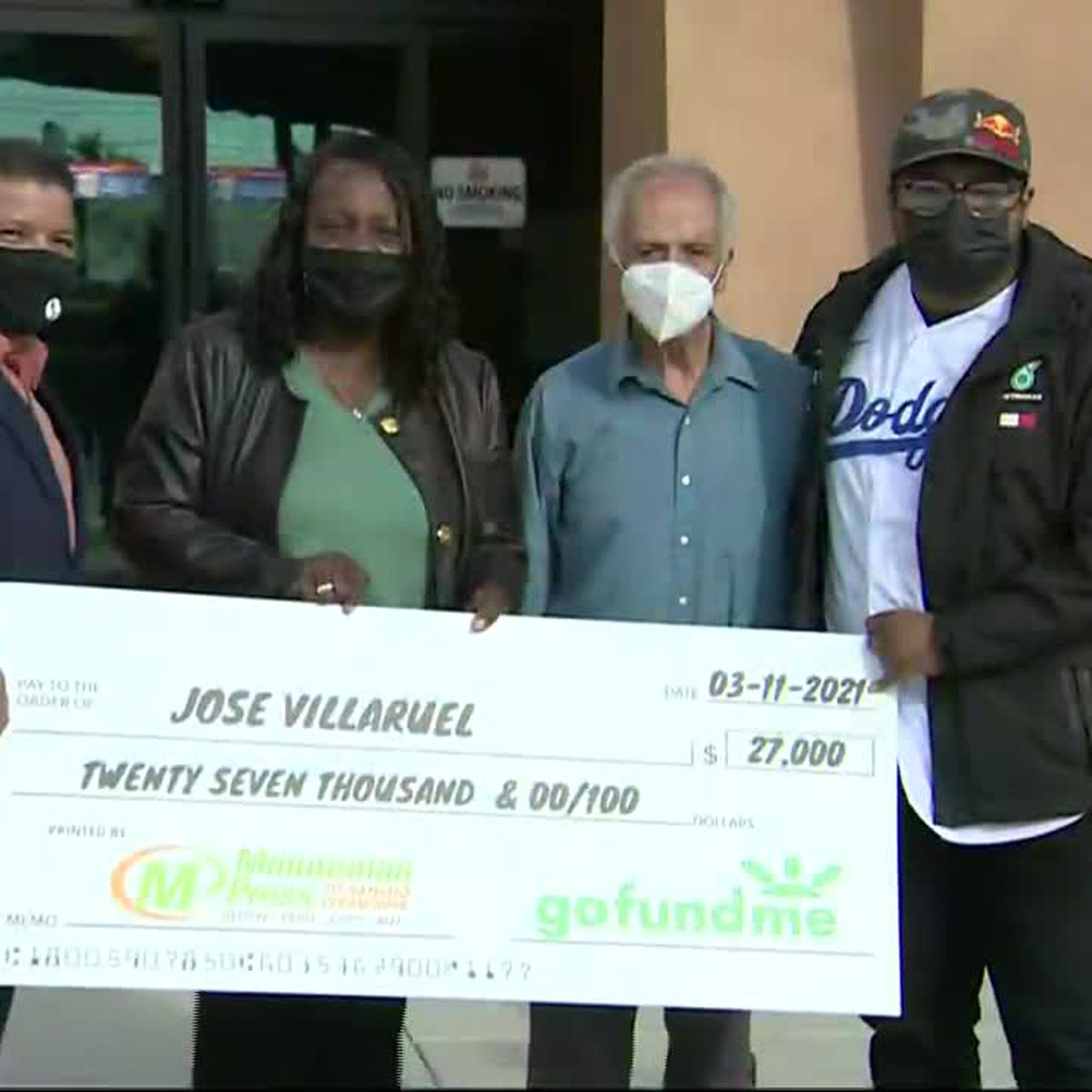 Teacher Living in Car Receives cheque By Former Student