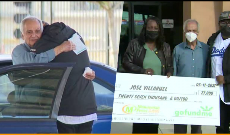 Teacher Living in Car Receives $27,000 cheque By Former Student
