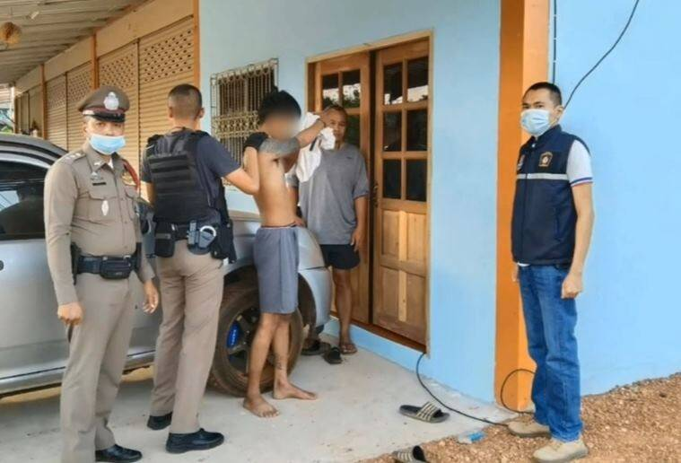 Thai Burglar Falls Asleep in The House He Was Trying to Rob, Woken up By Police for Arrest